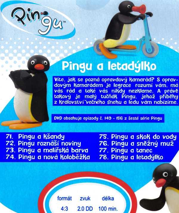 Pingu a rybí flétničKa