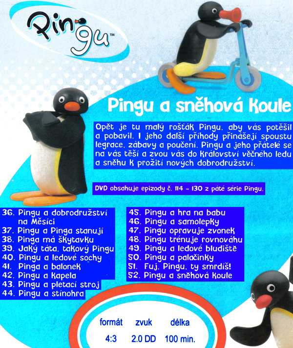 Pingu a sněhová Koule