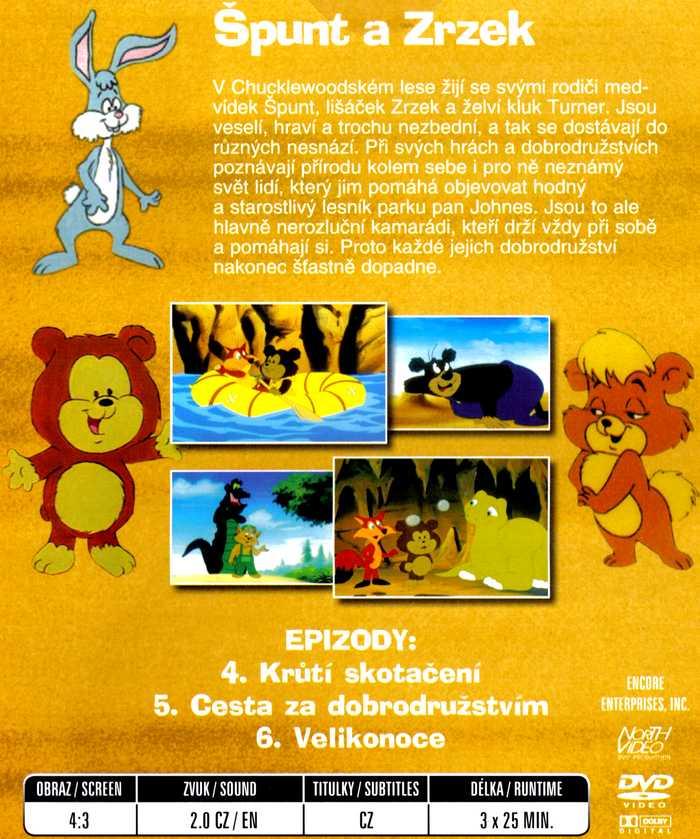 Špunt a Zrzek DVD 2
