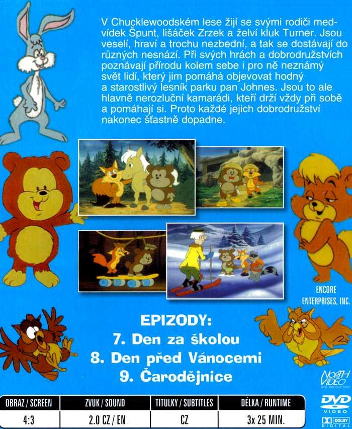 Špunt a Zrzek DVD 3