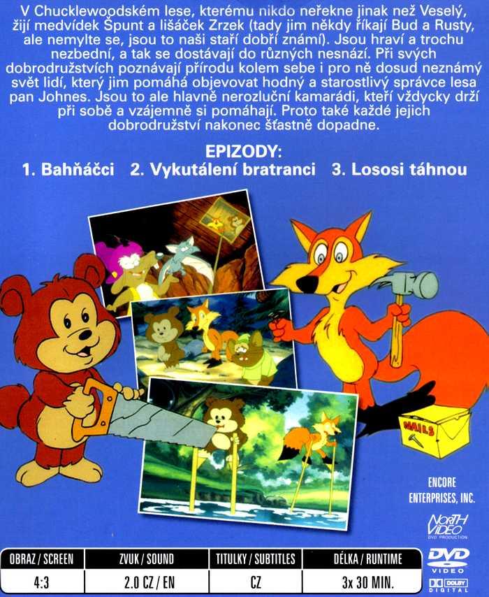 Špunt a Zrzek DVD 4