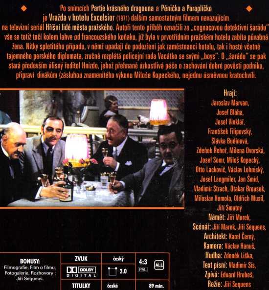Vražda v hotelu Excelsior