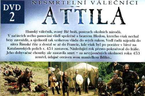 ATTILA dvd