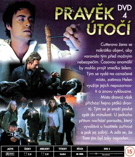 PRAVĚK ÚTOČÍ DVD 4