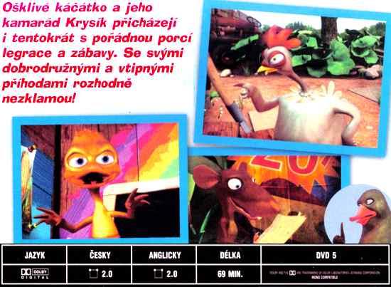 Ošklivé kačátko a Já DVD 6