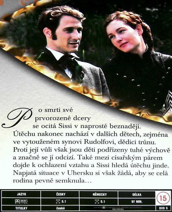 Císařovna Sissi DVD 2
