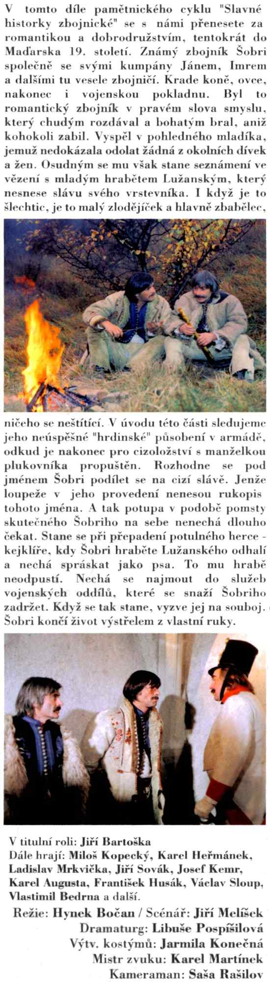 Slavné historky Zbojnické 2 Šabri Jožka