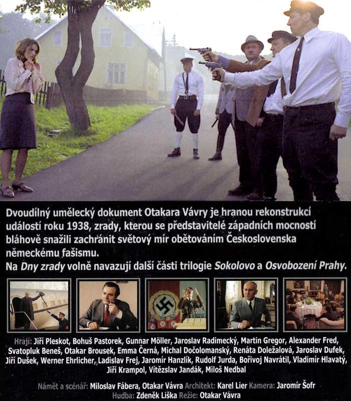 DNY ZRADY 1. DVD