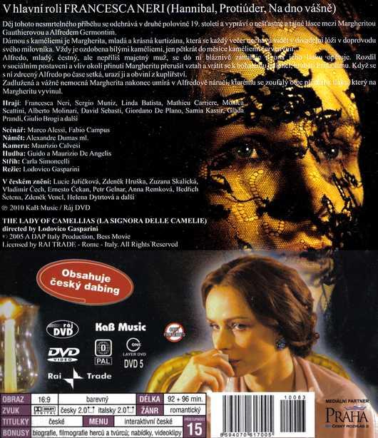 Dáma s kaméliemi 2 DVD