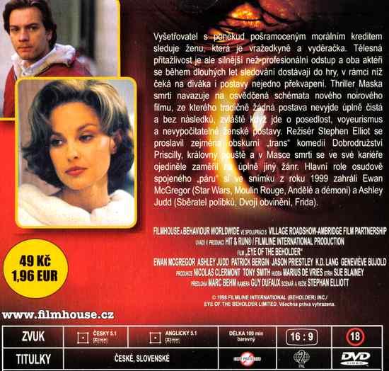 maska smrti DVD