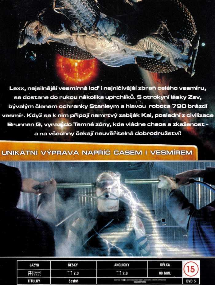 LEXX DVD 1