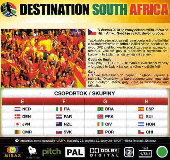CESTA DO FINÁLE JIŽNÍ AFRIKA 2010
