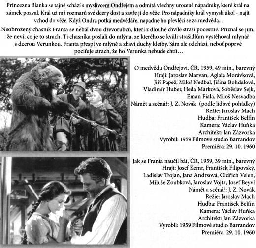 O medvědu Ondřejovi a Jak se Franta naučil bát