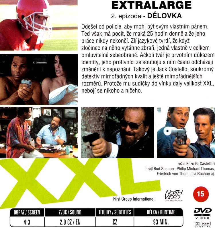 EXTRALARGE dvd 2 DĚLOVKA