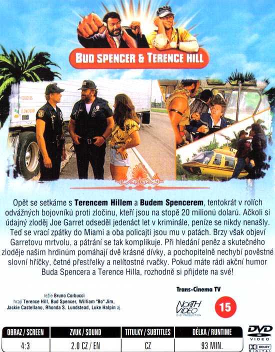 SUPER POLICAJTI Z MIAMI dvd
