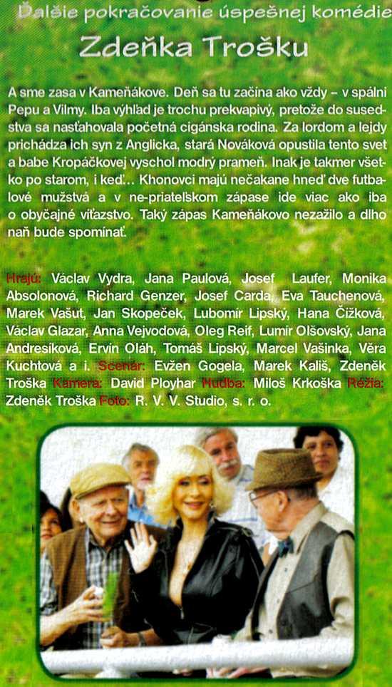 KAMEŇÁK dvd 3