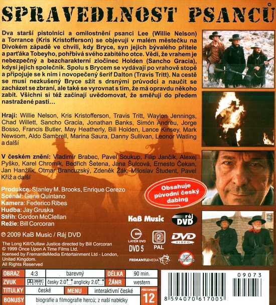 SPRAVEDLNOST PSANCŮ dvd
