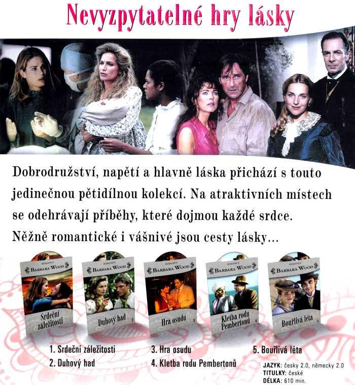 Barbara Wood KOLEKCE 5 DVD