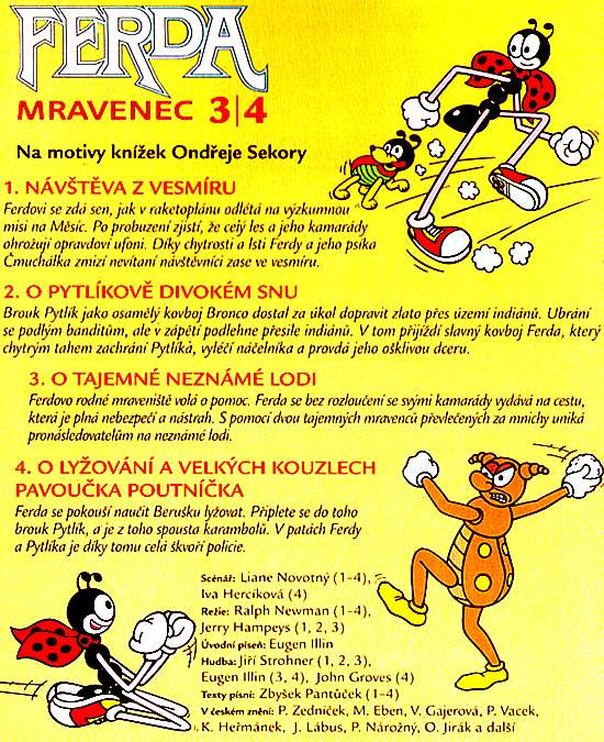 FERDA MRAVENEC 3/4