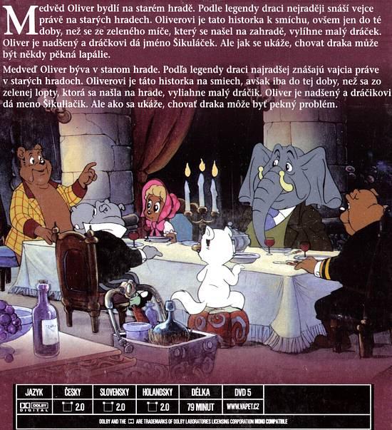Medvěd Oliver a dráček Šikuláček DVD