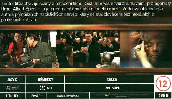 SPEER A HITLER 5.DÍL FILM O FILMU