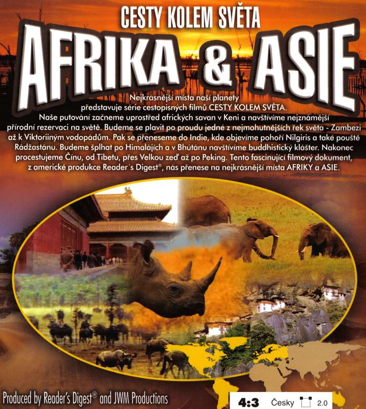 CESTY KOLEM SVĚTA AFRIKA A ASIE