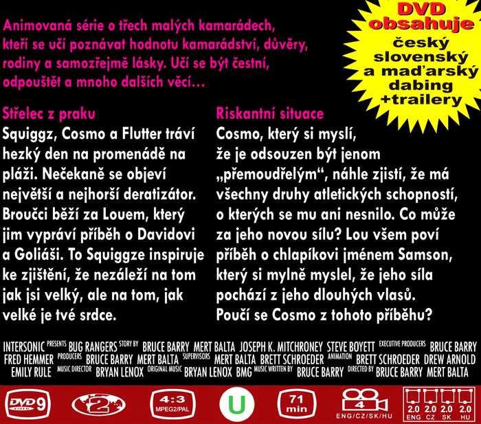 BROUČCI CHROBÁCI dvd 2