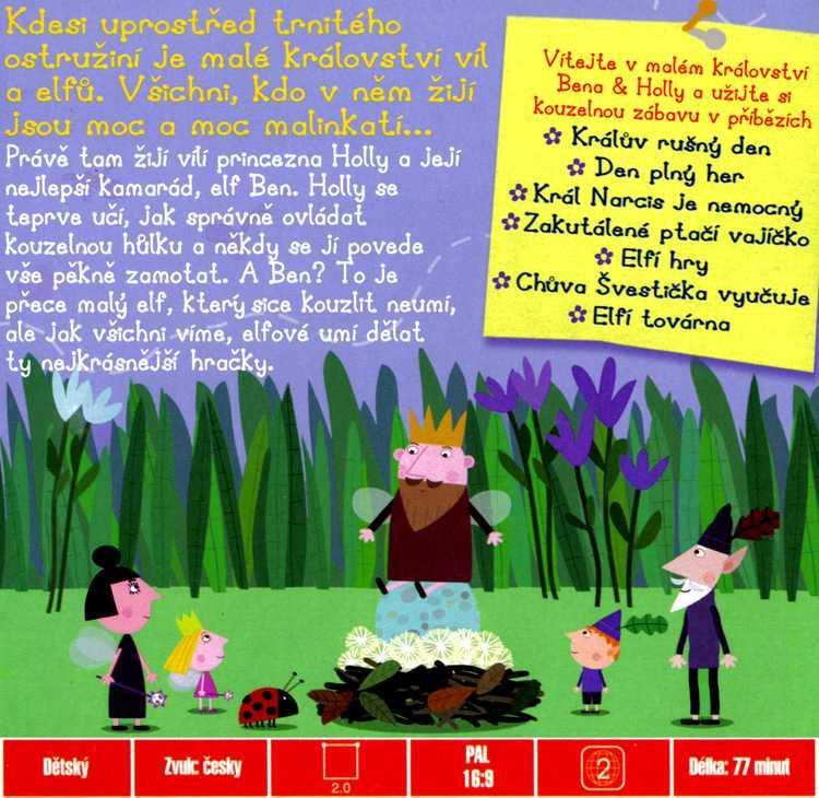 Malé Království Bena & Holly Den plný her