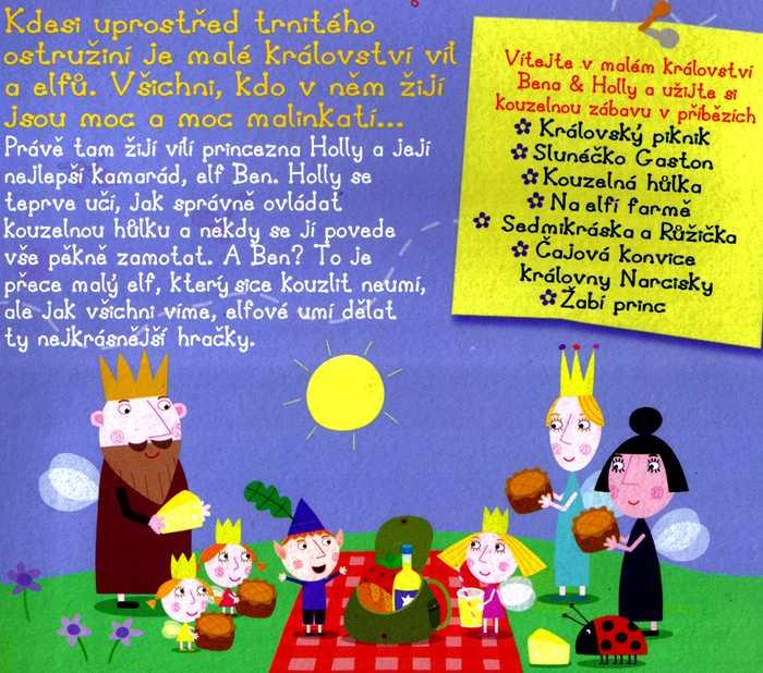 Malé Království Bena & Holly Královský piknik