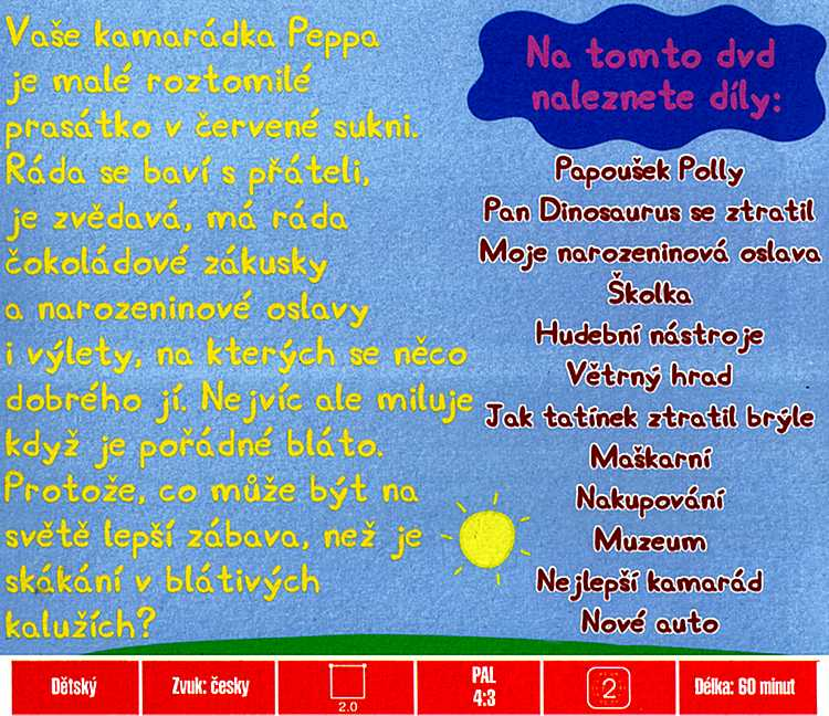 Prasátko Peppa 12 nejoblíbenějších příběhů