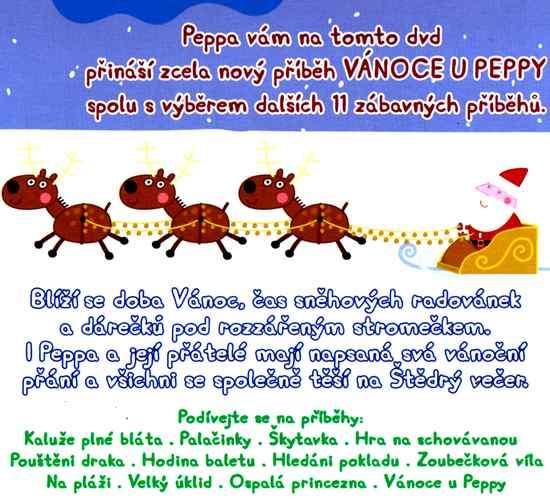 Prasátko Peppa Vánoce u Peppy