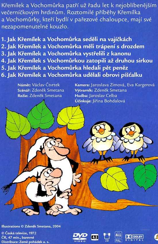 POHÁDKY Z MECHU A KAPRADÍ 6. DVD
