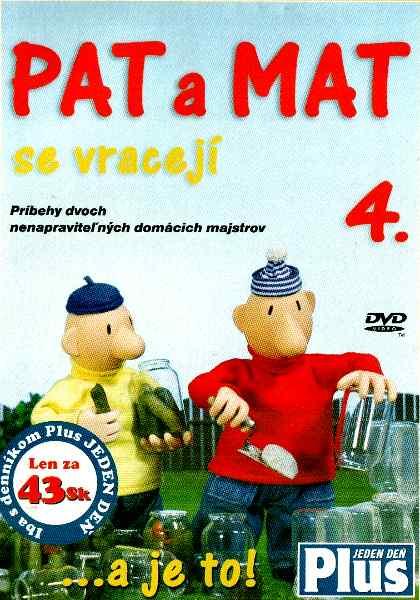 PAT A MAT se vracejí DVD 4